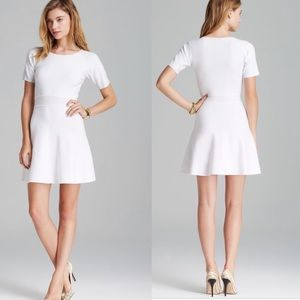 Theory Mollia Enchanted dress in white, size L